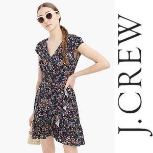 J. Crew Ruffle Front Mini Dress